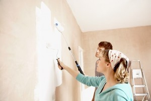 צובעים את הבית